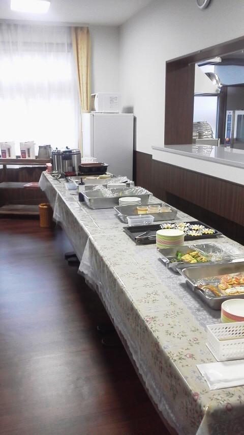 札幌市豊平区の「ロイヤルレジデンス豊平」内覧会で試食体験