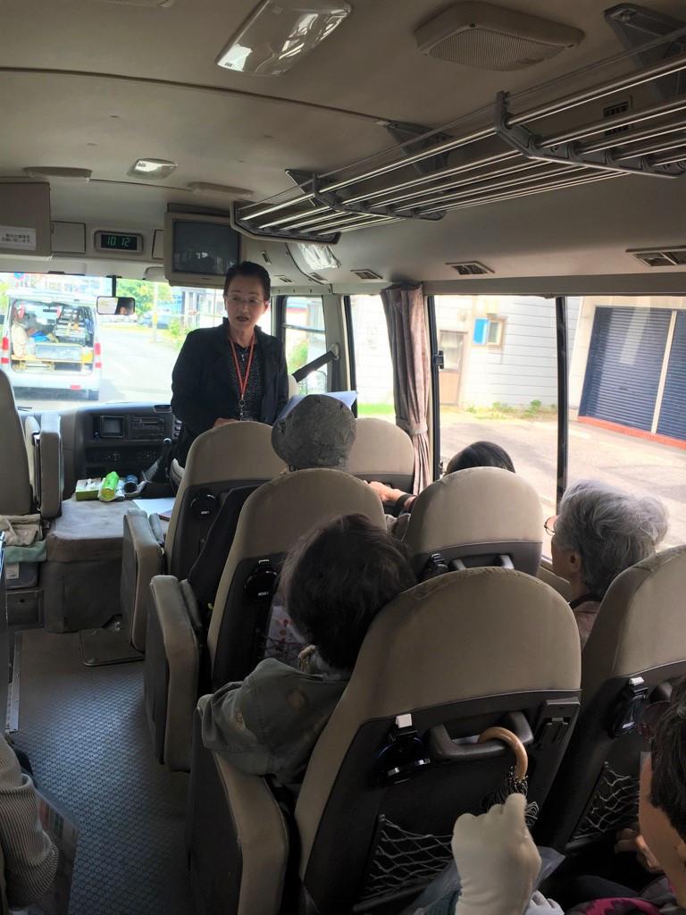 【函館店】函館市地域包括支援センターときとう主催「高齢者住宅見学バスツアー」に参加しました。
